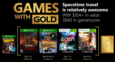 December 2017 Games With Gold Includes Child of Eden, Warhammer: End Times – Vermintide, More