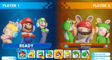 Free Versus Mode Coming to Mario + Rabbids Kingdom Battle on December 8