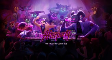 """Oxenfree Dev's New Game """"Afterparty"""" Has You Boozing With the Devil"""