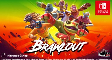 "Party Fighter ""Brawlout"" Launches December 19 for Switch, Early 2018 for PS4 and Xbox One"