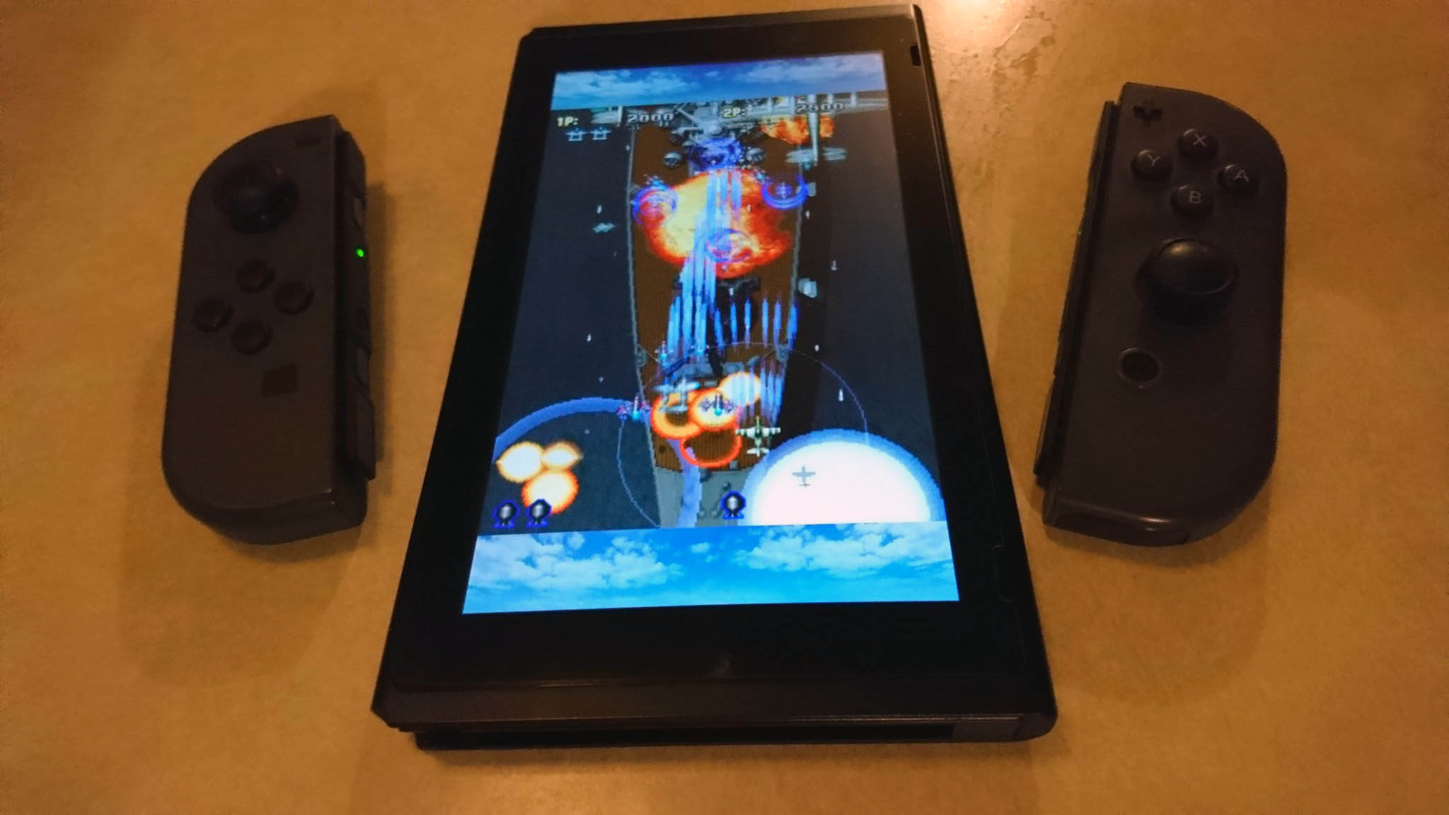 The Switch is Perfect for TATE Mode and Vertical Arcade