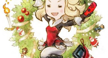 "Bravely Series Twitter Wishes Fans a Nintendo Switch-Themed ""Happy Merry Christmas"""