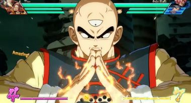 New Dragon Ball FighterZ Character Breakdown Video for Tien
