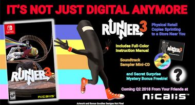 Runner3 Gets a Physical Release on Nintendo Switch
