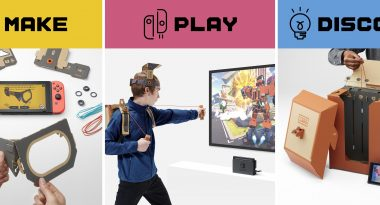 Nintendo Labo Announced for Switch, a New DIY-Cardboard Creation Kit Series