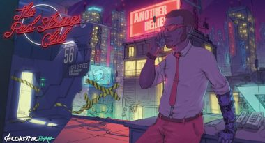 Cyberpunk Bartending and Hacking Adventure Game The Red Strings Club Now Available
