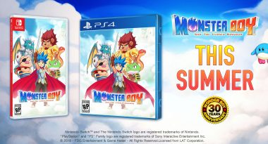 Retail Version for Monster Boy and the Cursed Kingdom Announced for PS4 and Switch