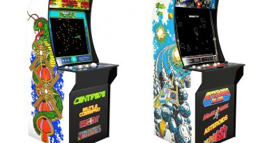 Arcade1Up Reveals Budget-Priced Yet Full-Sized Arcade Cabinets for Centipede, Asteroids, and Street Fighter II