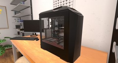 Build a Gaming PC in a Game via PC Building Simulator