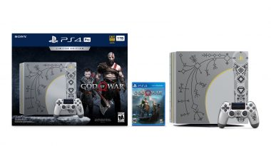 God of War PS4 Pro Bundle Announced