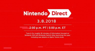 Switch and 3DS Focused Nintendo Direct Set for March 8