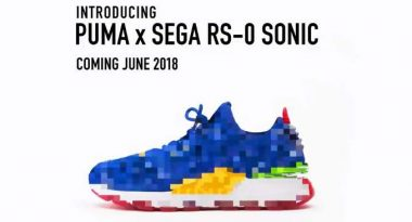 Sonic the Hedgehog Puma Sneakers Announced