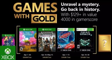 Games With Gold Lineup for April 2018 Confirmed