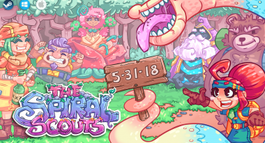 HuniePop Dev's New Game The Spiral Scouts Launches May 31