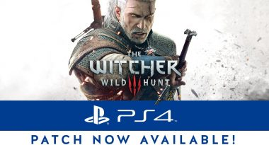 The Witcher 3: Wild Hunt PS4 Pro Update Now Available