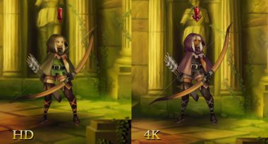 New Dragon's Crown Pro Trailer 4K Comparison Trailer