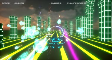 "Japanese Music-Rhythm Shooter ""L.F.O.: Lost Future Omega"" Heads West for Switch on May 3"