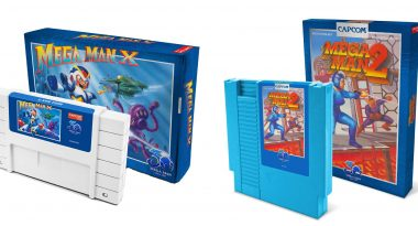 New, Limited, and Official Mega Man 2 and Mega Man X Cartridge Reproductions Announced