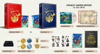 Owlboy Limited Edition Detailed, Launches July 13