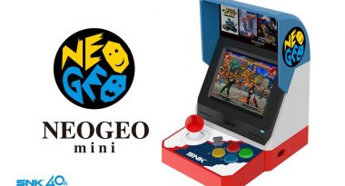 Online Presentation for NEOGEO Mini Console Set for Early June