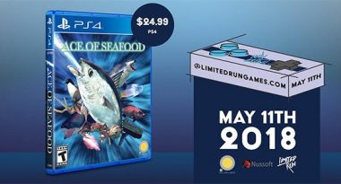 """Crazy Aquatic Shooter """"Ace of Seafood"""" Gets Retail PS4 Version on May 11"""