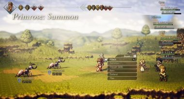 New Trailer for Octopath Traveler Introduces Characters Ophilia and Cyrus