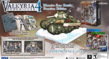 """""""Memoirs from Battle"""" Premium Edition for Valkyria Chronicles 4 Announced, New Squad Trailer"""