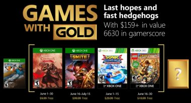 Games With Gold for June 2018 Revealed