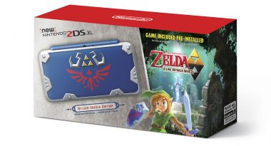 New 2DS XL Hylian Shield Edition Announced, Launches July 2
