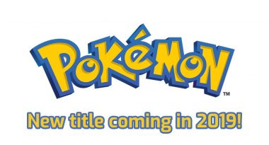 Next Mainline Pokemon RPG Still Coming, Releases for Switch in 2019