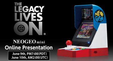 Neo Geo Mini Online Presentation Set for June 9