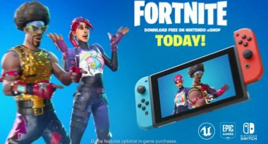 Fortnite Launches Today for Switch