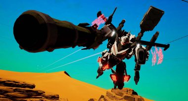 Daemon x Machina Announced for Switch