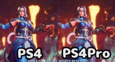 New Fighting EX Layer Trailer Compares PS4 and PS4 Pro Performance