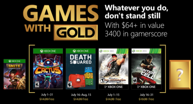 Games With Gold Lineup for July 2018 Confirmed
