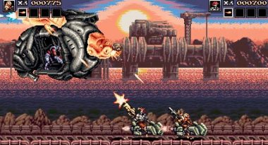 New Gameplay for 2D Shooter Blazing Chrome