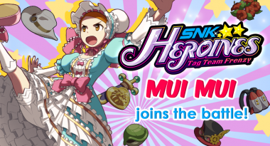 Mui Mui Confirmed for SNK Heroines: Tag Team Frenzy