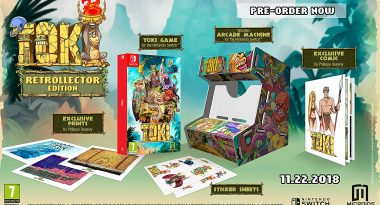 Toki Remake Launches November 22, Retrollector Edition Revealed