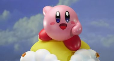 Huge New Kirby Warp Star Statue is Majestic, Wholesome