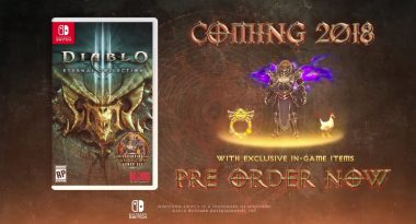 Diablo III Eternal Collection Officially Confirmed for Switch