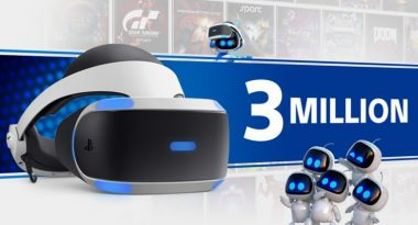 PlayStation VR Sells Over 3 Million Units
