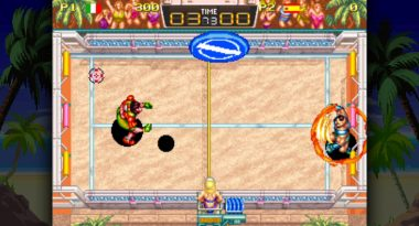 Windjammers Launches for Switch on October 23