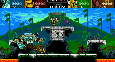 Platform Fighter Shovel Knight Showdown Announced