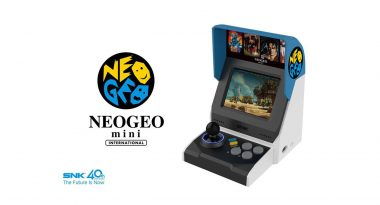 NEOGEO mini Western Pre-Sale Set for September 10