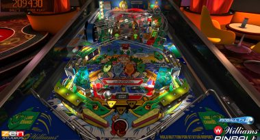 Classic Williams Pinball Tables Coming to Pinball FX3