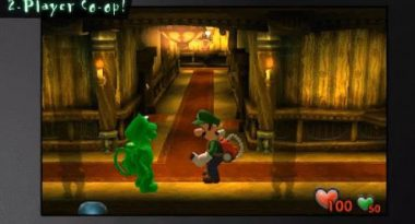 Luigi's Mansion Remake Has New Two Player Co-Op Mode