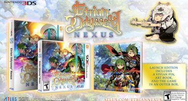 Launch Edition Announced for Etrian Odyssey Nexus