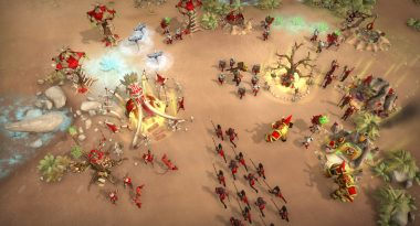 """Dinosaur-Taming Traditional RTS """"Warparty"""" Now in Early Access"""