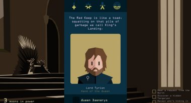 Reigns: Game of Thrones Now Available on PC, Mobile