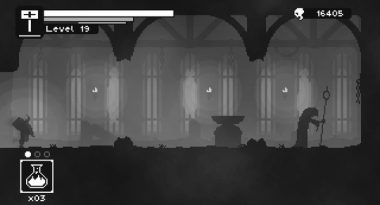 Niche Spotlight – Unworthy: Monochromatic Metroidvania With No Jumping
